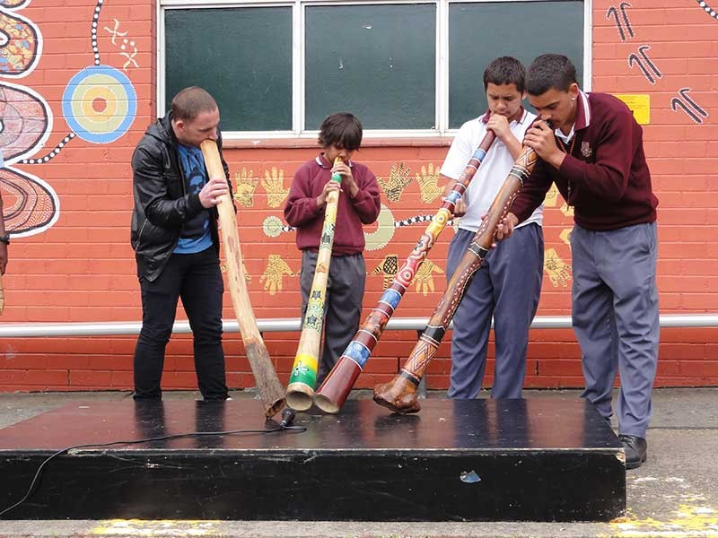 Aboriginal music learning at Chester Hill High School