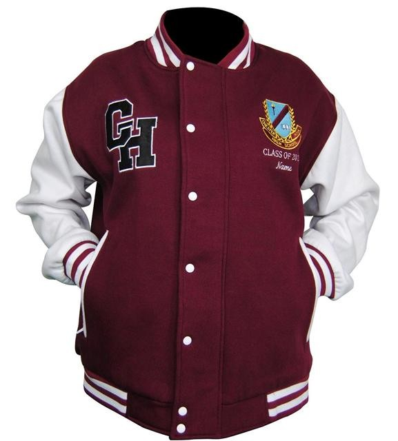 Chester Hill High School Sports exodus baseball jacket front