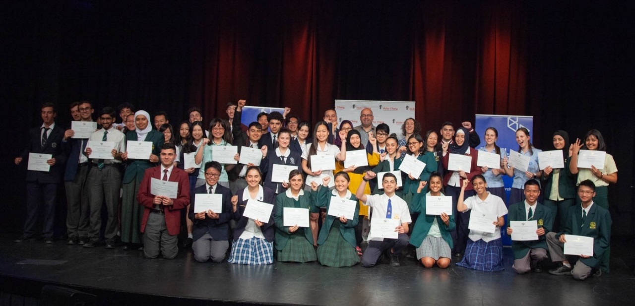 2019 Victor Chang School Science Award Recipients